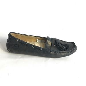 UGG Flats size 6 , black and gold